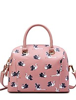 M Plus® Women's Casual PU Messenger Shoulder Bags/Totes - Pink