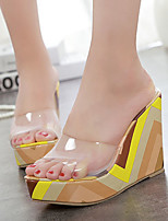 Women's Shoes Silicone Wedge Heel Open Toe Sandals Dress More Colors available