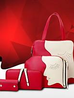 KLY ® 2015 New fashion smiley handbag shoulder bag handbag diagonal package female three-piece package