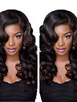 Brazilian Body Wave Lace Front Wigs Brazilian Virgin Hair Glueless Lace Front Human Hair Wigs For Black Women 8