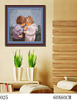 DIY Digital Oil Painting  Large Size Without Frame  Family Fun Painting All By Myself     The Wonderful Sharing 6025