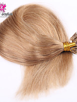 100g / lot actions couleur sombre remy mongol pointe de nano extensions de cheveux 20 pouces nano perles extensions de cheveux 100gram