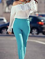 Women's Angel White Sheer Lace Chiffon Top