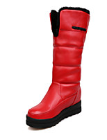 Women's Shoes Platform Snow Boots Boots Casual Black/Red/White