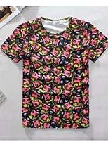 Men's High Quality Creative Unique Detailed Intensive Summer Breathable 3D Style T-Shirt——A Lot Of Head