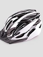 Casque ( Blanc/Bleu , EPS + EPU )-de Unisexe - pentru Cyclisme/Cyclisme en Montagne/Cyclisme sur Route/Cyclotourisme Montagne/Route 24