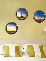 3d adesivos de parede parede estilo decalques de parede belas paisagens pvc adesivos