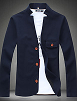 2015 spring summer new mens jacket slim coat thin stick men collar clip tide
