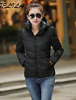 Women's Casual Thin Long Sleeve Short Cotton Coat