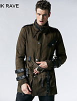 PUNK RAVE Y-532 Men's Casual Pure Long Sleeve Regular Jacket (PU)