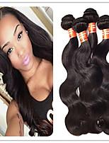 3pcs / lot Schönheit für immer brasilianische reine Haarkörperwelle Haar spinnt 3 Bündel brasilianische Körperwelle brasilianische