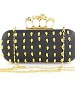 Handbag Faux Leather Evening Handbags/Clutches/Mini-Bags/Wallets & Accessories With Rivet/Metal
