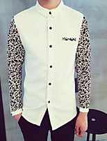 Men's Long Sleeve Shirt , Cotton Casual