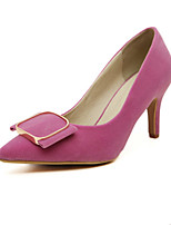 Women's Shoes  Stiletto Heel Heels/Pointed Toe Pumps/Heels Casual Black/Pink