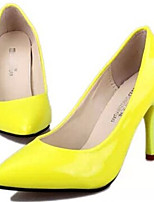 Women's Shoes  Stiletto Heel Pointed Toe Pumps/Heels Dress Blue/Yellow/Purple/Red
