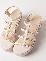 Women's Shoes  Wedge Heel Wedges/Creepers Sandals Casual Black/Neutral