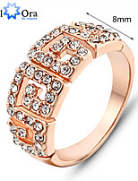 2015 New Vintage Party Ring Italina Rigant Jewelry Ring Style Christmas Gift Austrian Crystal Ring