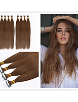 1pc / lot brazilian human tape hair extensions straight 2.5g / pc 40pcs / pack, 100g 18