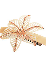 Flower Hairpin Made of Acetate Material  , High-grade Hair Accessories New Design Hair Clip