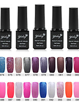 1PC Yiday Soak-off UV & LED Color Gel Polish (No.73-96 Colors Available)