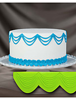 Cake Decorating Silicone Mold 3D Cake Stencil Triple Drop String 3D Stencils for Cake Decorating and Craft Art