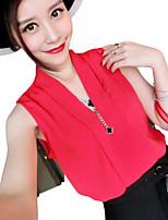 RXHX   Women's CLOTHING STYLE Elasticity Sleeve Length Top Length Top Style (Fabric)