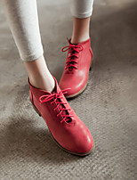 Women's Shoes  Low Heel Round Toe Athletic Shoes Office & Career/Casual Black/Yellow/Red