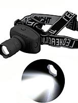 Linternas de Cabeza ( A Prueba de Agua ) - LED - para Camping/Senderismo/Cuevas/De Uso Diario/Ciclismo/Caza/Viaje/Laboral/Escalar 1 Modo
