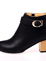 Women's Shoes  Stiletto Heel Fashion Boots Boots Office & Career/Dress Black/Yellow/White
