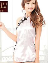 SKLV Women's Ice Silk Cheongsams/Ultra Sexy/Suits Backless Nightwear/Lingerie