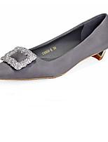 Women's Shoes  Flat Heel Comfort/Pointed Toe/Closed Toe Flats Casual Black/Purple/Gray