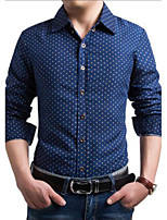 Men's Casual Long Sleeve Business Shirts