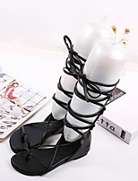 Women's Shoes  Flat Heel Mary  Sandals Casual Black/Silver