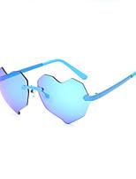 Women's 100% UV400 Heart Sea Sunshine Colorful Fashion Sunglasses