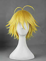 The Seven Deadly Sins Dragon's Sin of Wrath Meliodas  Yellow 30cm Cosplay Wigs