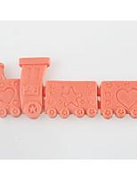 trenzinho bolo fondant em forma de chocolate do molde de silicone, ferramentas de decoração bakeware