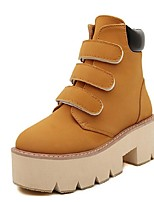 Women's Shoes Platform Riding Boots Boots Casual Yellow