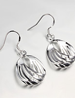 S925 Silver Plated Drop Earring Christmas Gift Jewelry Earring