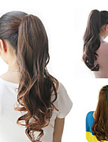 Ponytail Wig Clip Heat Resistant Synthetic Hair Tail Women Natural Costume Long Curly Ponytail Extension Kinky Curly