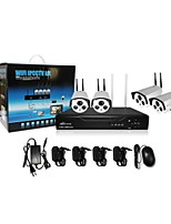 Ann® 4 CH H.264 Home Security System DVR Kit (Channel 4  IR-cut Outdoor Waterproof Camera, HDMI, USB  Wifi)