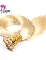 25 obligaties voorraad lichtkleur Mongoolse remy stok tip hair extensions 20 inch i tip hair extensions nieuwe !!!