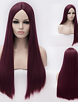 European And American High-Quality High-Temperature Silk Long Straight Hair wig Fashion Girl Necessary