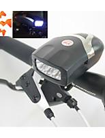 voorkant fiets licht, 3-geleide fiets koplampen met bel, veiligheid