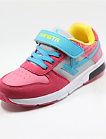 Girls' Shoes Casual Comfort Patent Leather Fashion Sneakers Red