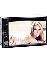 DVD Player Automotivo - 2 Din - 800 x 480 - 6,2 Polegadas