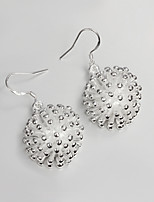 2015 Italy Style Silver Plated Drop Earrings for Lady
