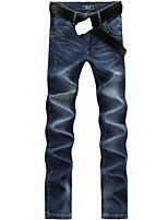 Men's Casual Long Denim Pants Jeans
