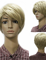 European and American Fashion Men's Natural Blonde Wig