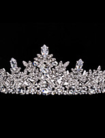 Neoglory Jewelry Wedding Crowns Leaf Tiara Bridal Hair Accessories Women Wedding Hair Jewelry Headpeice