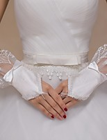 Nylon Wrist Length Wedding/Party Glove